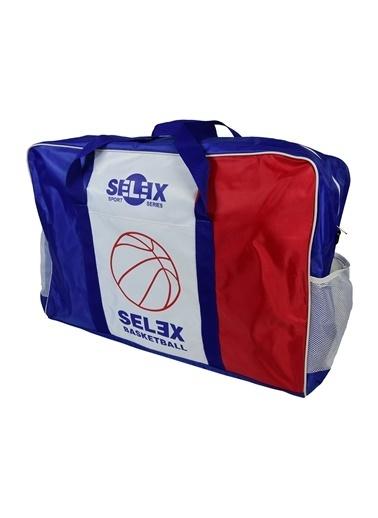 Selex 6 Lı Basketbol Top Çantası Renkli